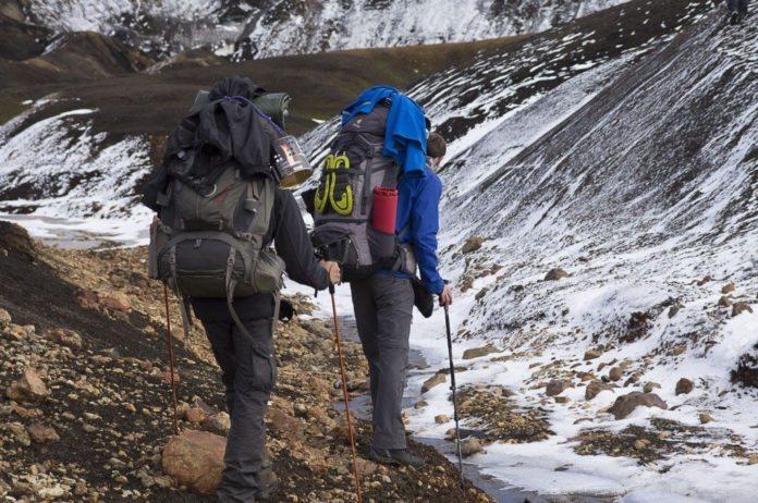 Trekkingtour auf Island